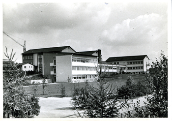 The original building of the Max Planck Institute for Developmental Biology before it was rebuilt, without the fish house.