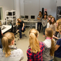 Girls'Day 2012 at the Max Planck Institute for Biological Cybernetics. Picture: Martin Breidt, Max Planck Institute for Biological Cybernetics, Tübingen. 
