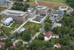 Aerial photography of the Max Planck Campus Tübingen